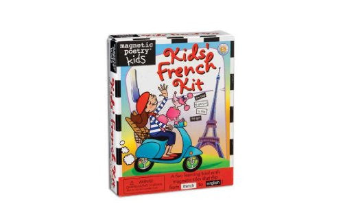 Magnetic Poetry® French Kit. 3023MP.