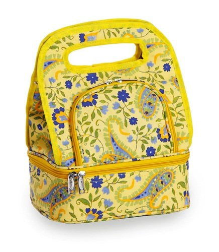 Picnic Plus Savoy Insulated Lunch Tote (Color: Buttercup)