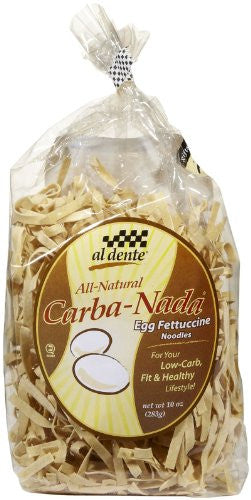 Al Dente Egg Fettucine Low Carb 10.0 OZ