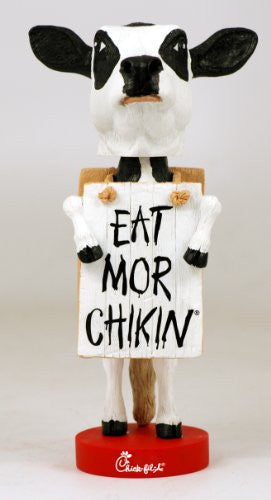 "Chick-Fil-A ""Eat Mor Chikin"" Bobblehead"