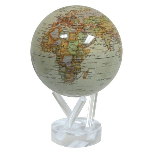 Mova Rotating Antiqued Gloss Finish 4.5 in. diam. Globe