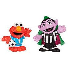 Sesame Street 2 Pack - Soccer Friends - Elmo & Count