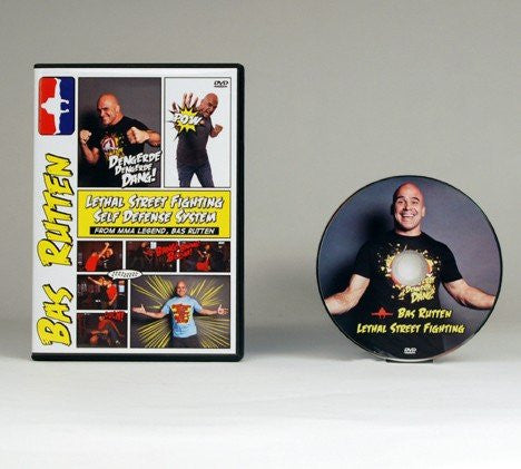 Bas Rutten Lethal Street Fighting DVD