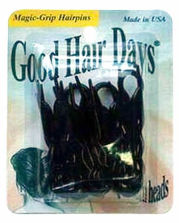 Good Hair Days Magic-Grip Hairpins Black
