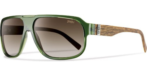 Gibson Green Wood with Polarized Brown Gradient Lens