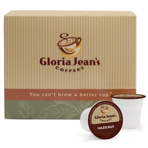 Gloria Jean's® Hazelnut Coffee K-Cup® Packs, 24/Bx