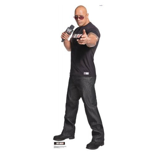 "The Rock - WWE 76"" x 27"" Stand-ups"