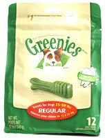 GREENIES REGULAR 12oz / 12 PACK