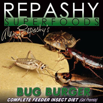 Repashy Bug Burger 16oz Bag Complete Feeder Insect Diet