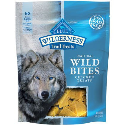 WILDERNESS BITES CHICKEN 4 OZ BG