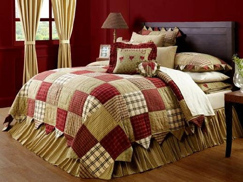 Heartland Queen Bed Skirt 60x80x16""