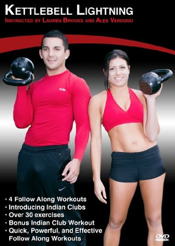 Lauren Brooks Kettlebell Lightning with Alex Verdugo DVD