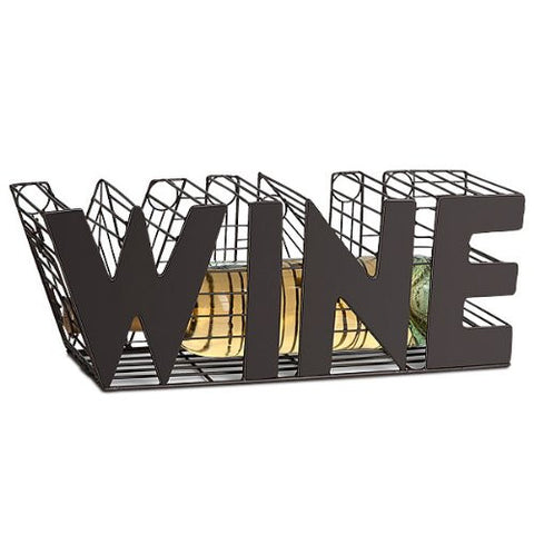 """WINE"" The Cork Saving Cage"