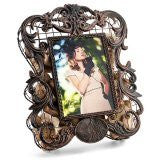Hand-Crafted Metal Photo Frame Cork Saving Cage