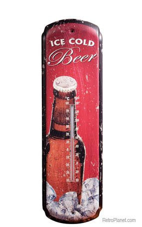 COLD BEER THERMOMETER