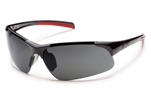 Traverse Black with Gray Polarized Polycarbonate Lens