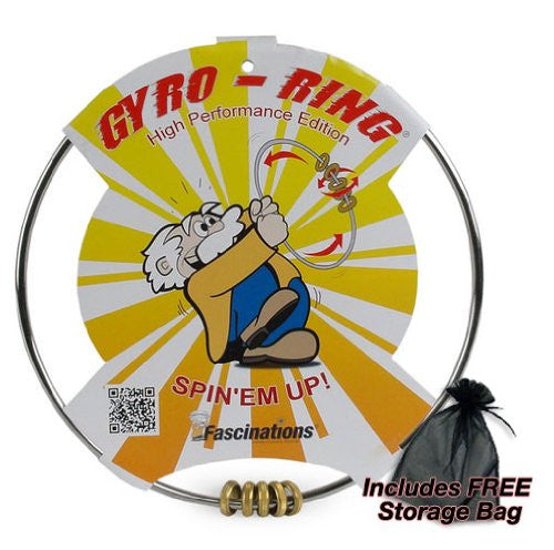 Gyro-Ring - High Performance Edition. Plus FREE Storage Bag!