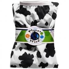 Planet Wise Diaper Pail Liner (Color: Moo-licious)