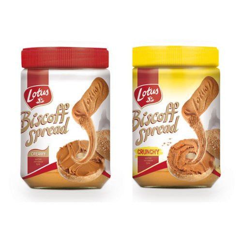 Biscoff Spread 14.0 OZ AND Biscoff Crunchy Spread 13.0 OZ ORDER ONE OF EACH ITEM NUMBER TO MATCH AMAZON LISTING