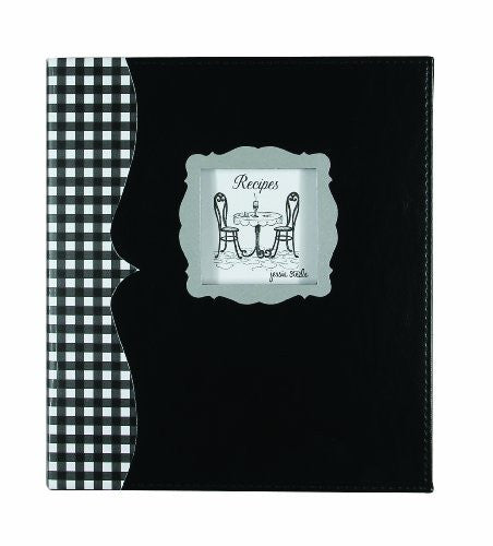 Pocket Page Recipe Book - Café Toile