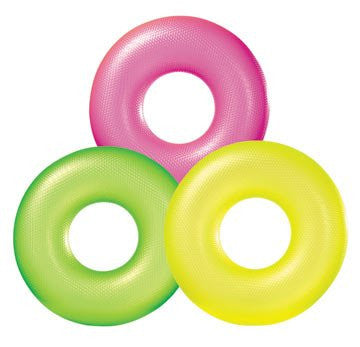 Neon Frost Pool Tube (Color: Green)