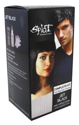 Splat Rebellious Colors Hair Coloring Kit Jet Black