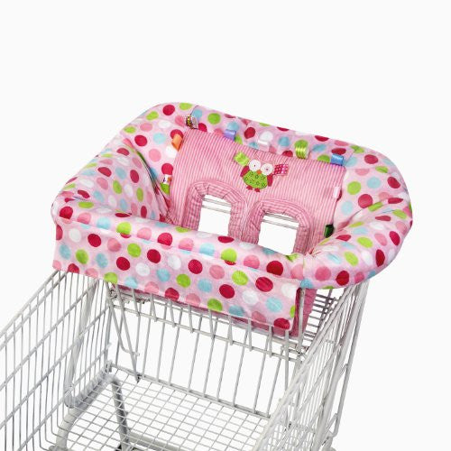 Taggies Cozy Cart Cover, Pink