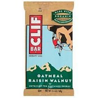 Clif Bar Oatmeal Raisin Walnut (Pack of 12)