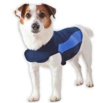 Thundershirt Drug-Free Dog Anxiety Treatment- Blue (Small)