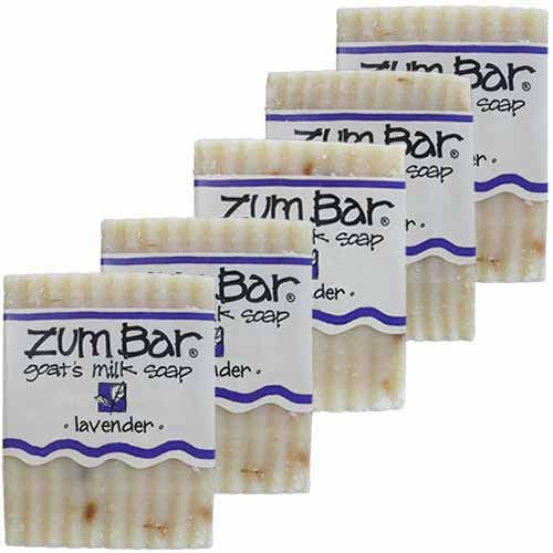ALL-NATURAL GOAT'S MILK SOAP LAVENDER ZUM BAR 3oz