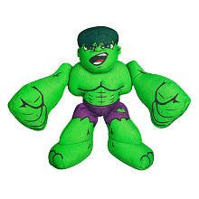 Marvel Super Hero Squad Mini Plush Wave 1 Case (Hulk Mini Plush #37658)