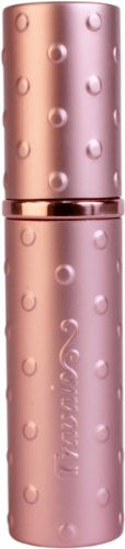 Elite Raised Polka Dot Refillable Fragrance Atomizer (Pink)