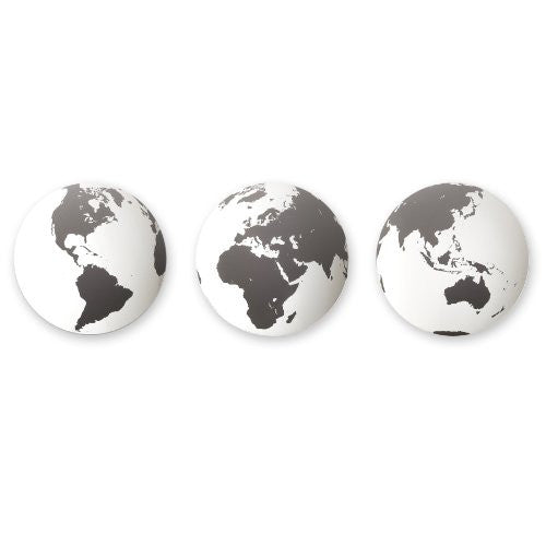 Umbra Globo Mirrored Wall Decor Tiles, Set of 3