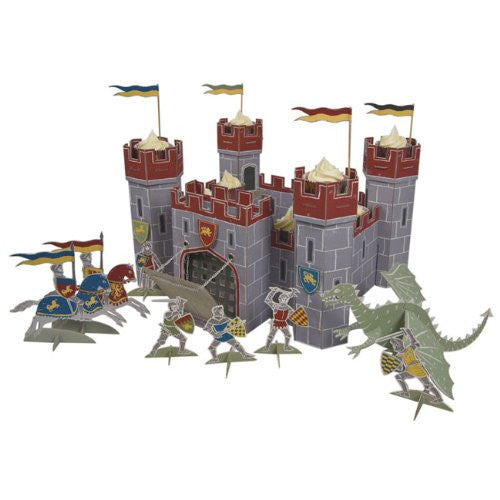 "Brave knights table centerpiece - 10 1/2"" x 16 1/2"" x 16 1/2"""