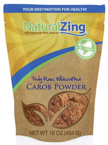 Carob Powder (Truly Raw, Wildcrafted) 16 oz.