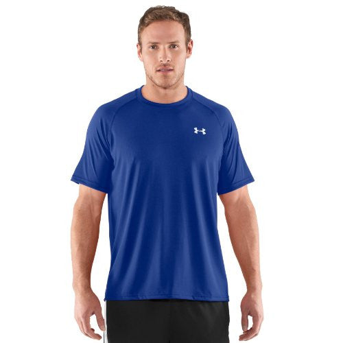 Tech Tee-Shirt - Royal/White, 3X-Large