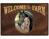 Welcome to Our Farm Doormat