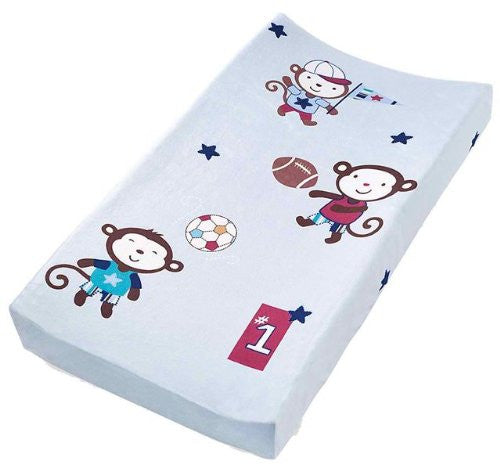 Plush Pals Changing Pad Cover (Monkey Sport)
