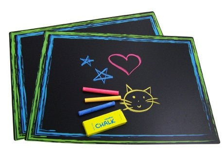 Chalkboard Placemat Set