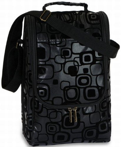 Graphix Black Double Bottle Carrier
