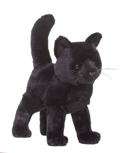 "Midnight Black Cat 10"" by Douglas Cuddle Toys"