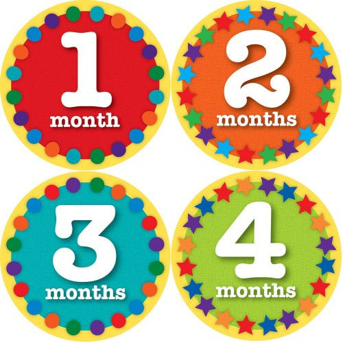 Sticky Bellies -Sticky Bellies Monthly Milestone Stickers - Oh Sew Ready : Maternity : 12-40 Weeks