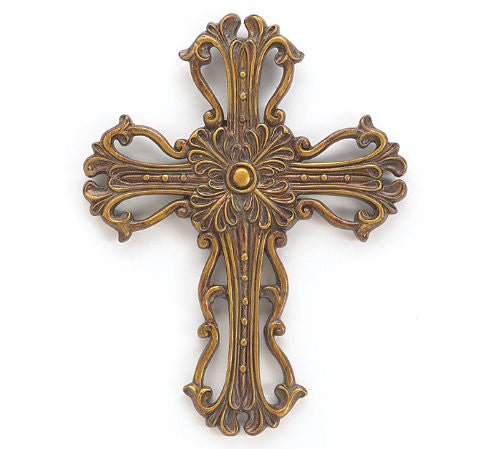 DECOR GOLD CROSS