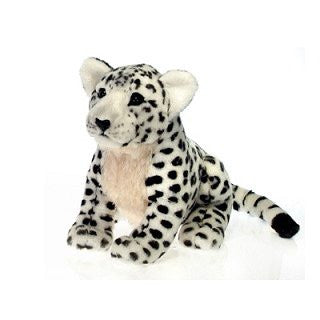Fiesta Wild Animals Series 15'' Sitting Snow Leopard