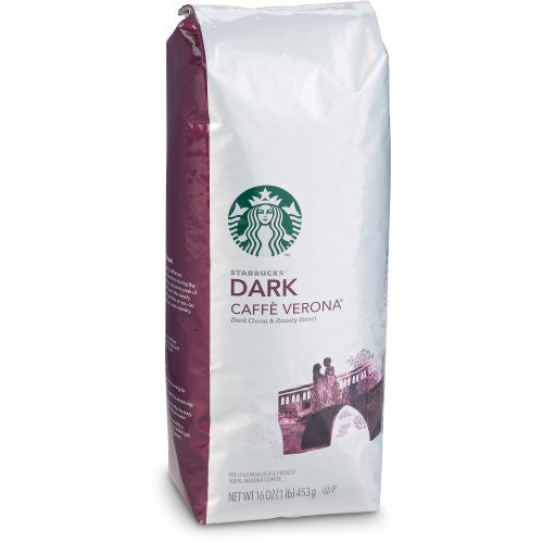 Starbucks® Caffe Verona® Dark Coffee, 1 lb.