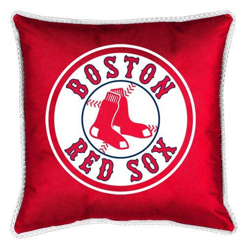 SIDELINES PILLOW -Boston Red Sox- Color Bright Red - Size 18x18