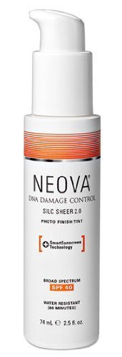 Neova Silc Sheer 2.0 Sunscreen SPF 40 (2.5 Oz)