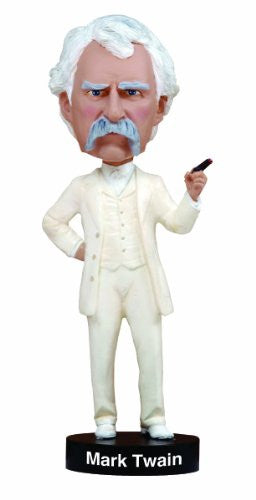 Mark Twain Royal Bobbles Bobblehead Figurine