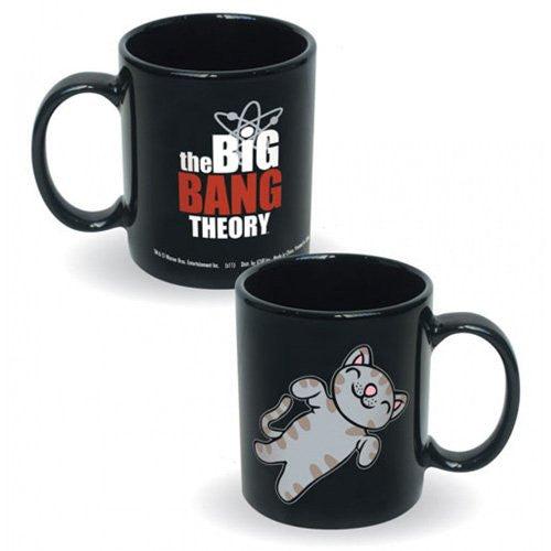 Big Bang Theory Soft Kitty Black Logo Coffee Mug