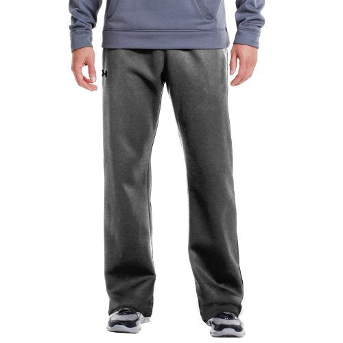 Armour Fleece Storm Pants - Heather Grey, Medium